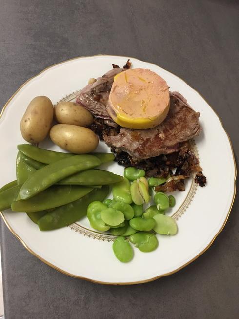 Filet de boeuf au foie gras