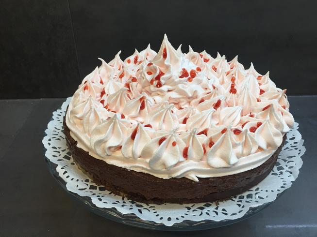 Gateau chocolat meringue