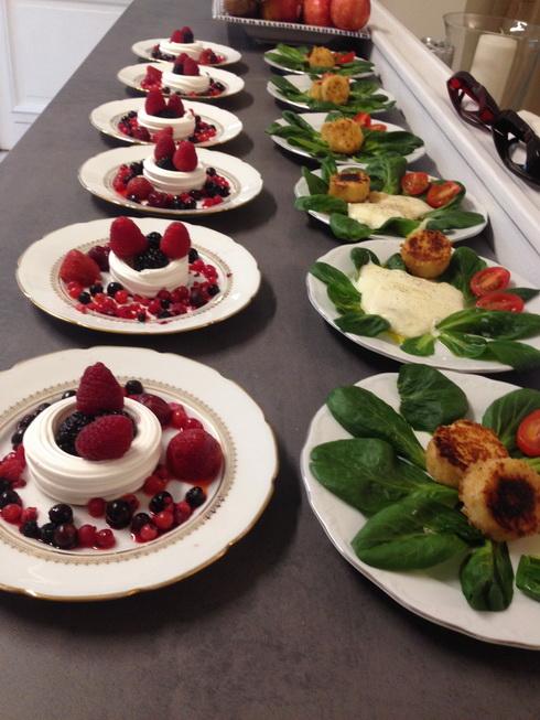 Farandole de fruits rouges